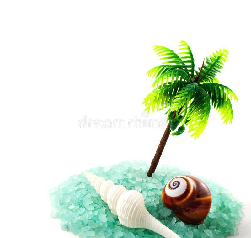 Morze solankowe granule. fotografia stock
