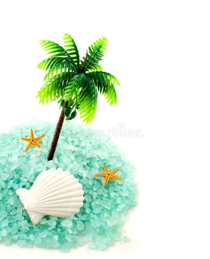 Morze solankowe granule. zdjęcia stock
