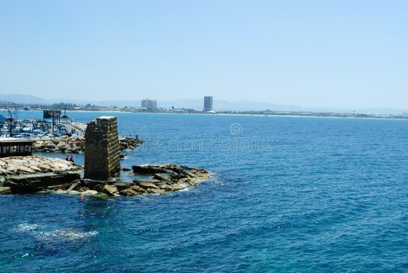 Download Morze w Akko, Israel (akr) zdjęcie stock. Obraz złożonej z izrael - 28973026