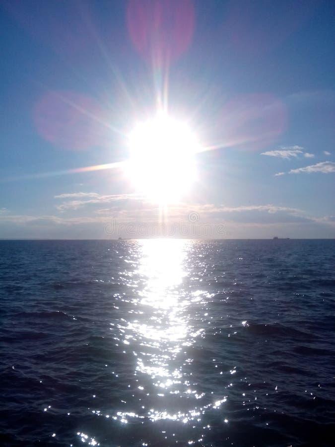 Morze w ranek obraz royalty free