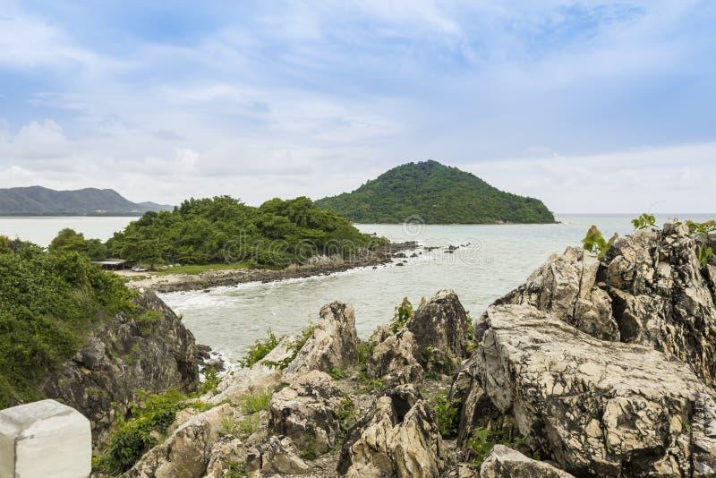Morze w Rayong obrazy stock