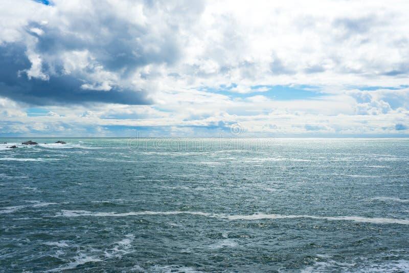 Morze w Sonoma wybrzeża stanu parku zdjęcia stock