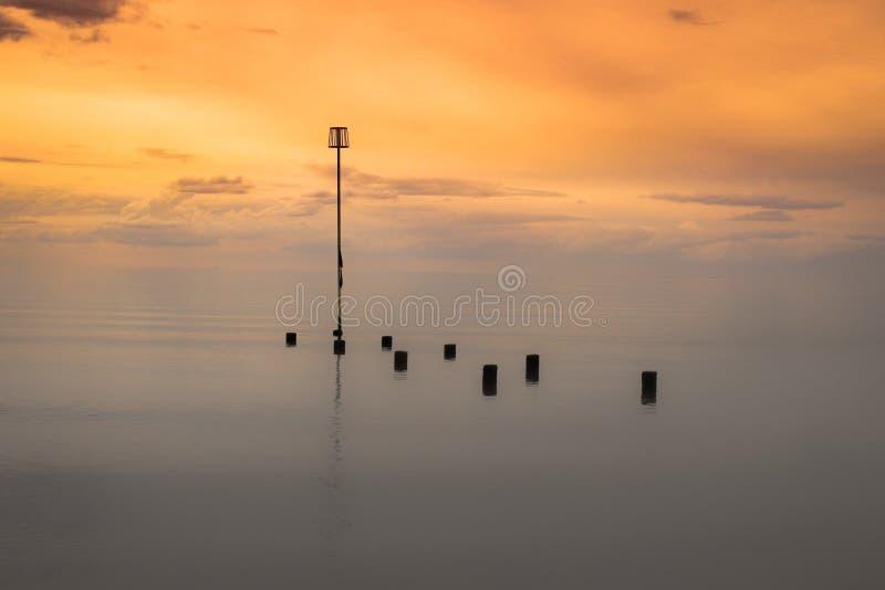morze wciąż fotografia royalty free