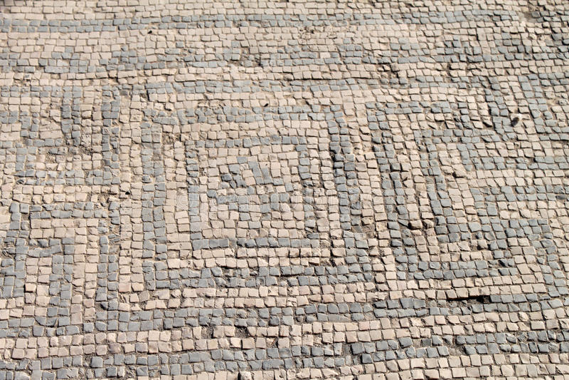 Mosaïque antique image libre de droits