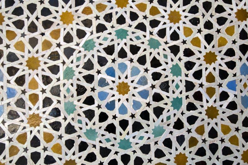 Mosaïque arabe photographie stock