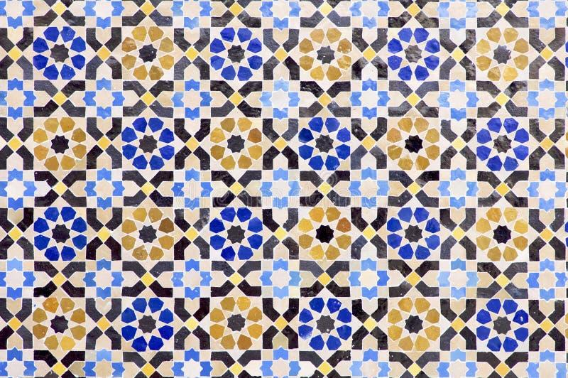 mosaïque arabe photo stock