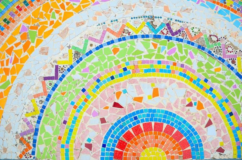 Mosaïque colorée photographie stock
