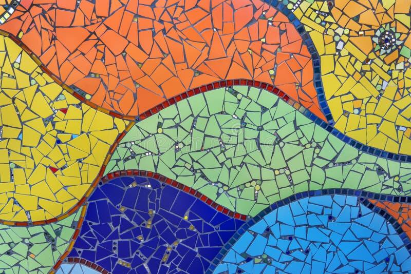 Mosaïque colorée photographie stock libre de droits