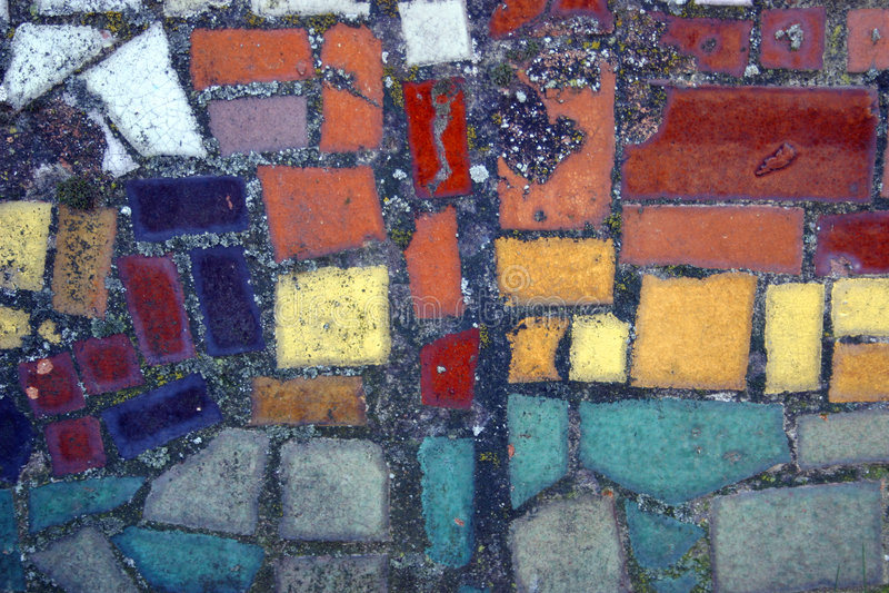 Mosaïque de couleur photo libre de droits