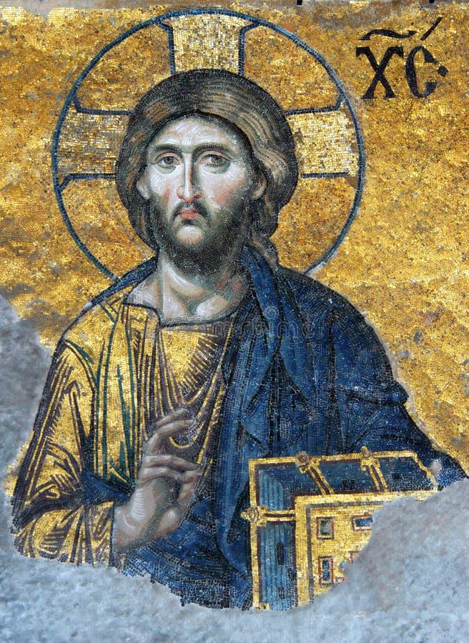 Mosaïque de Jésus-Christ photos stock