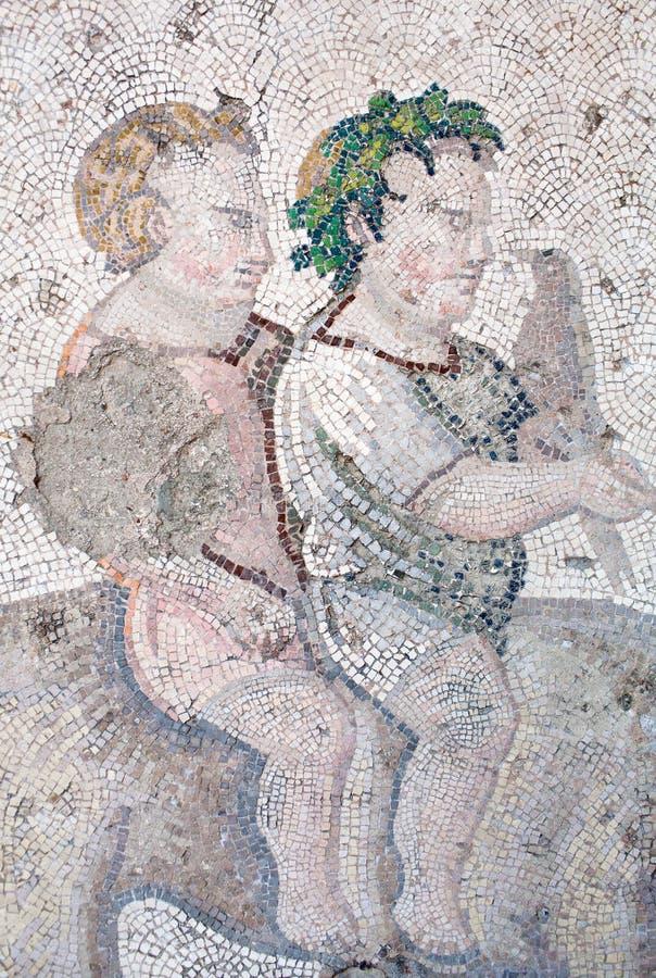 Mosaïque de la période bizantine image libre de droits