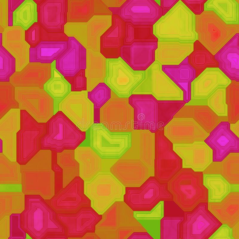 Mosaïque de texture illustration libre de droits