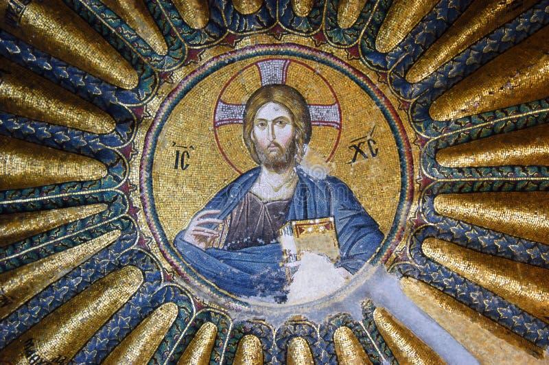 mosaïque du Christ Jésus photo libre de droits