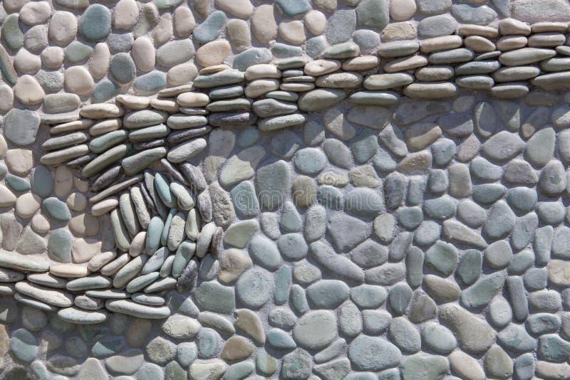 Mosaïque en pierre photographie stock