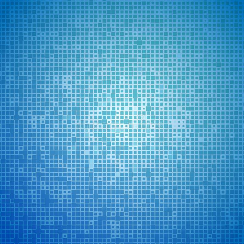 Mosaïque légère bleue Fond d'Abstarct Illustration de vecteur illustration libre de droits