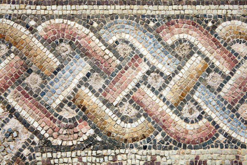 Mosaïque romaine photos stock