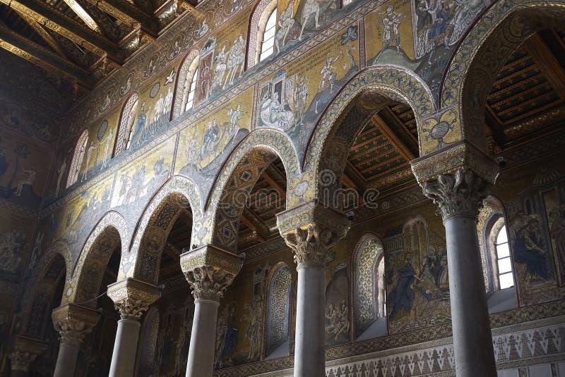 Mosaïques bizantines de style photographie stock libre de droits