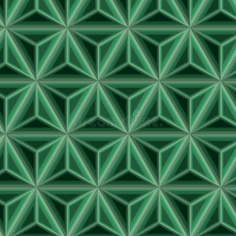 Mosaïques de modèle de thirth de cube photo libre de droits