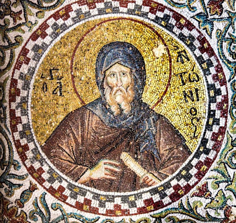 Mosaci Bizantyjski michaelita zdjęcie stock