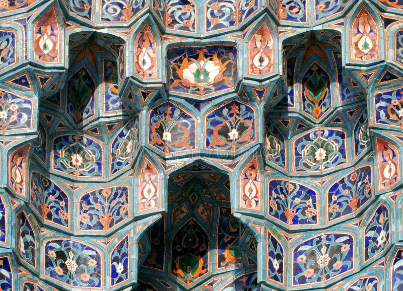 Mosaic-3 islámico fotografía de archivo