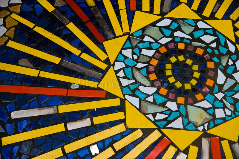 Download Mosaic stock photo. Image of floral, grid, geometry, architecture - 3113278