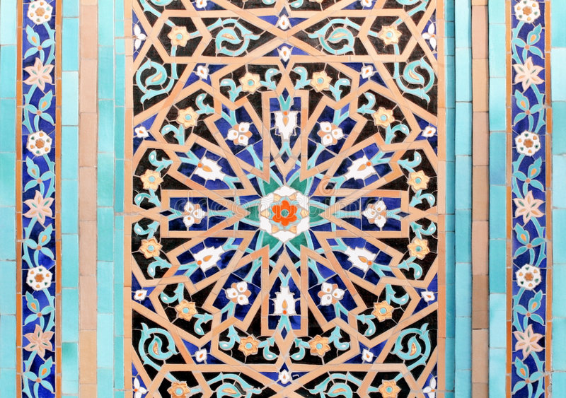 Mosaic-4 islâmico imagem de stock