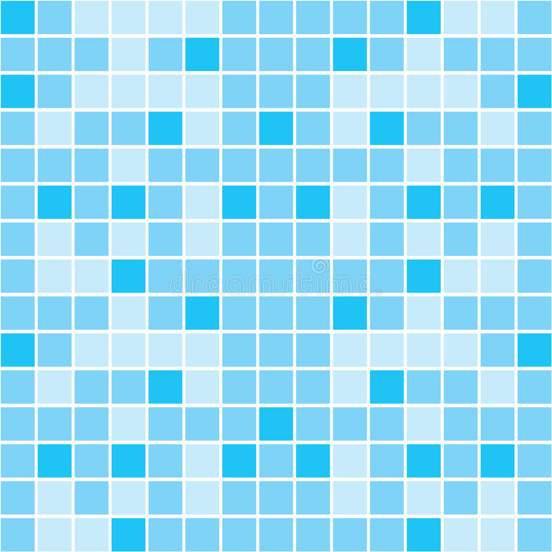 Mosaic. Vector image of rectangles, good for background and pattern for graphical composition stock illustration