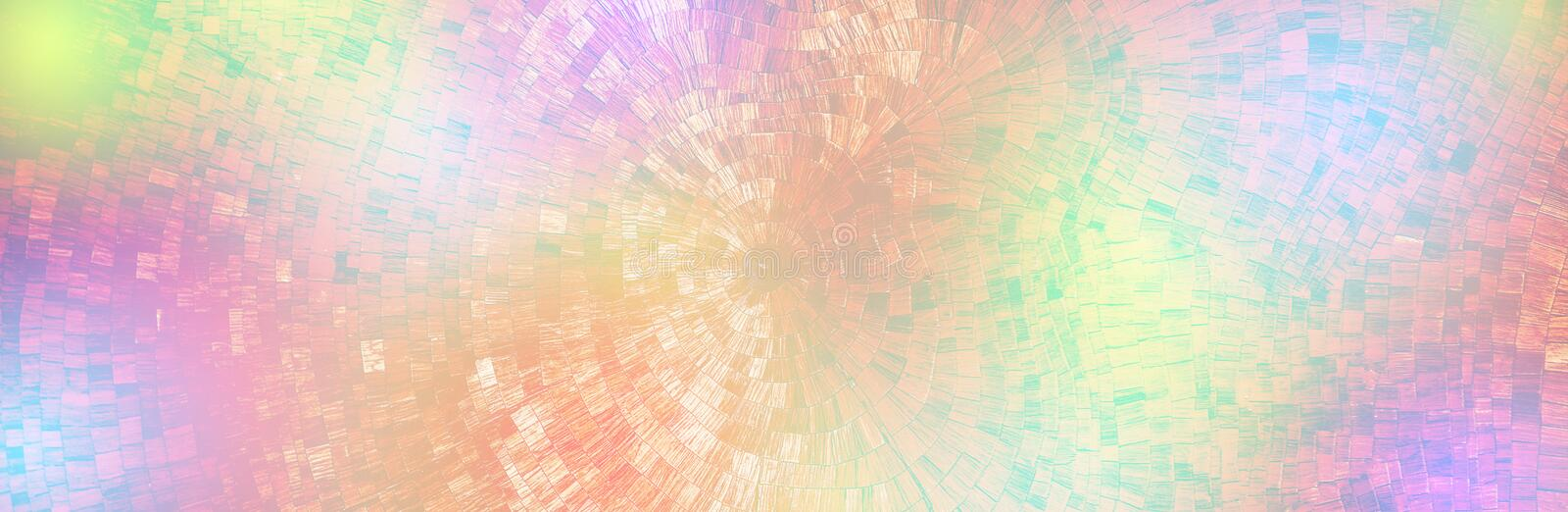 Mosaic abstract colorful background stock photo