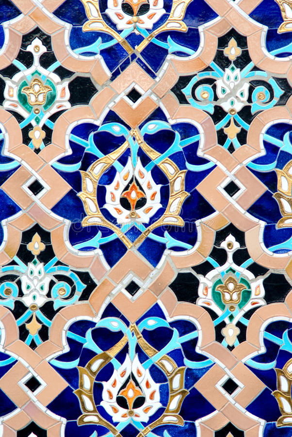 Mosaic background stock photography