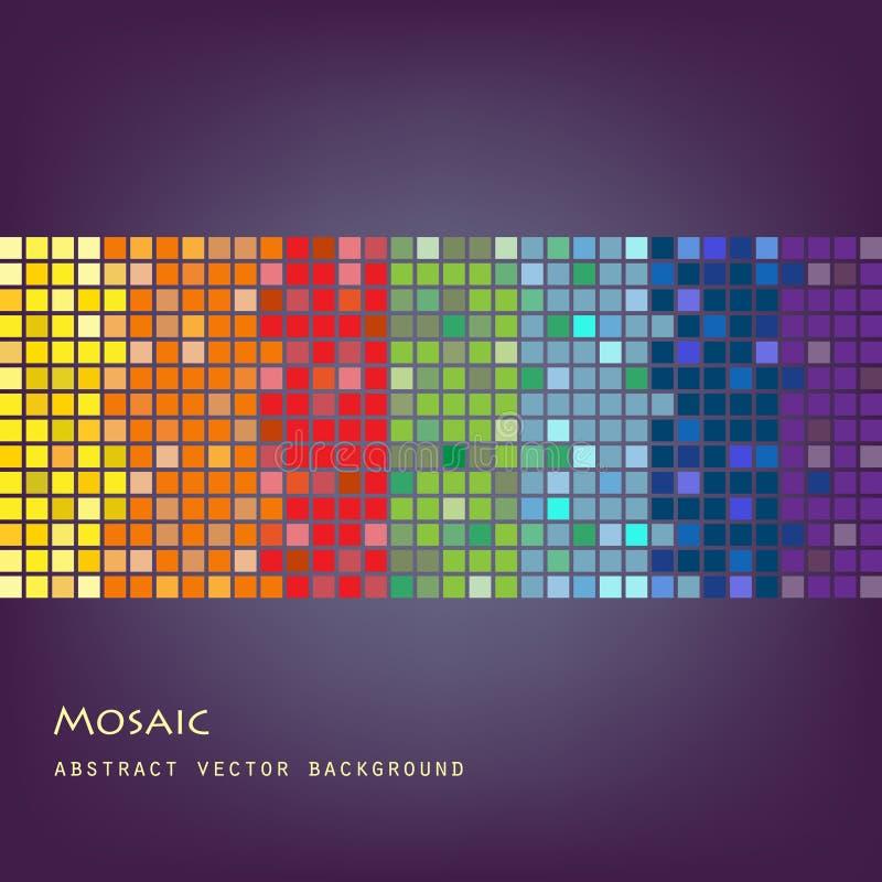 Mosaic background royalty free illustration