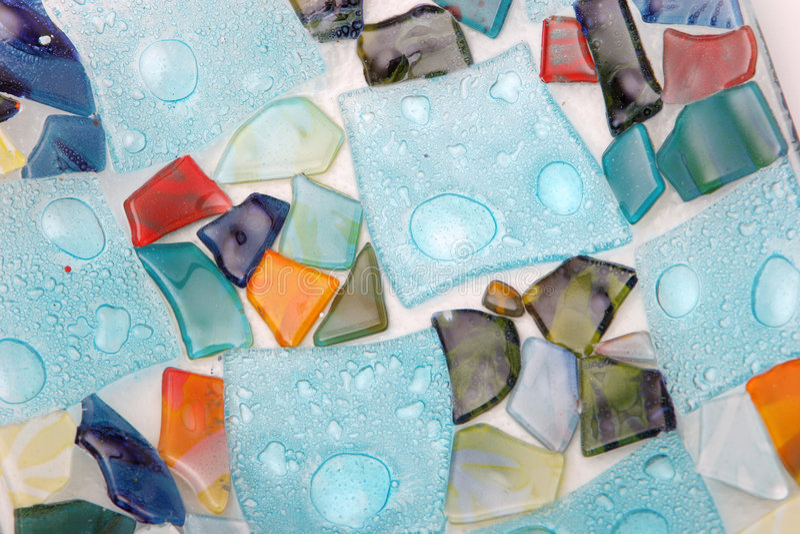 Mosaic background royalty free stock photos
