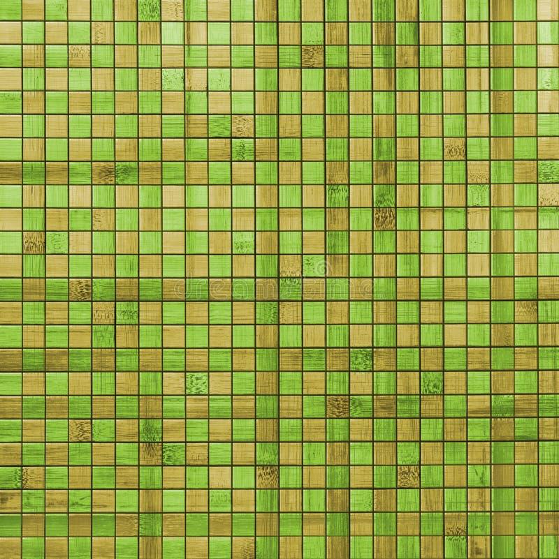 Mosaic bamboo green