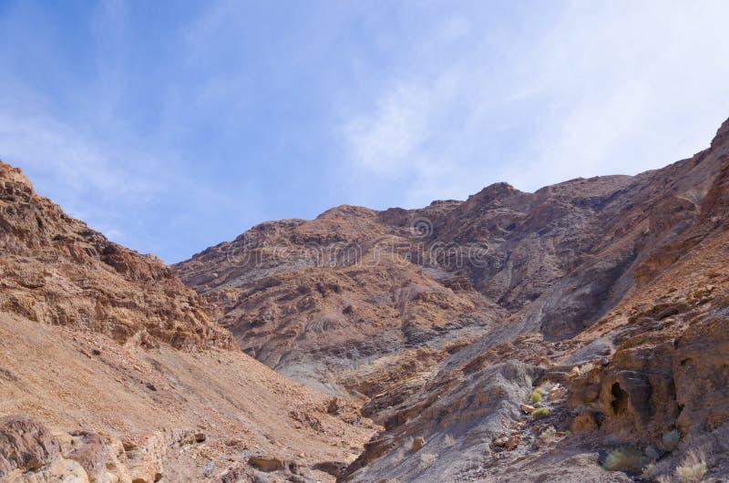 Mosaic Canyon in Death Valley. National Park, California, USA stock photos