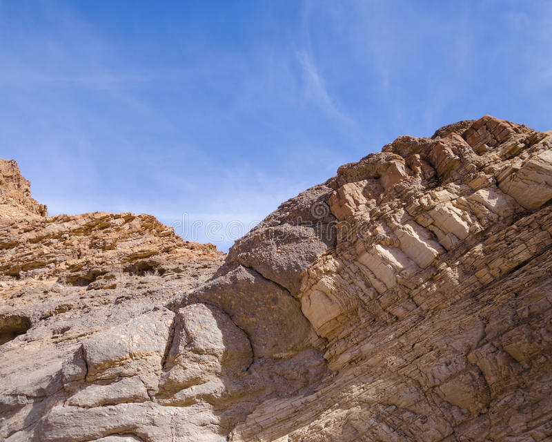 Mosaic Canyon in Death Valley. National Park, California, USA royalty free stock photo