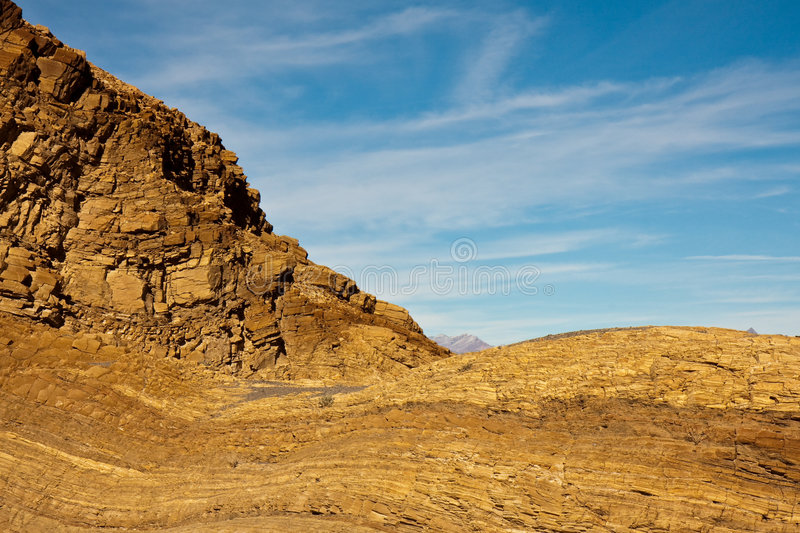Mosaic Canyon Rocks in Death Valley stock photo