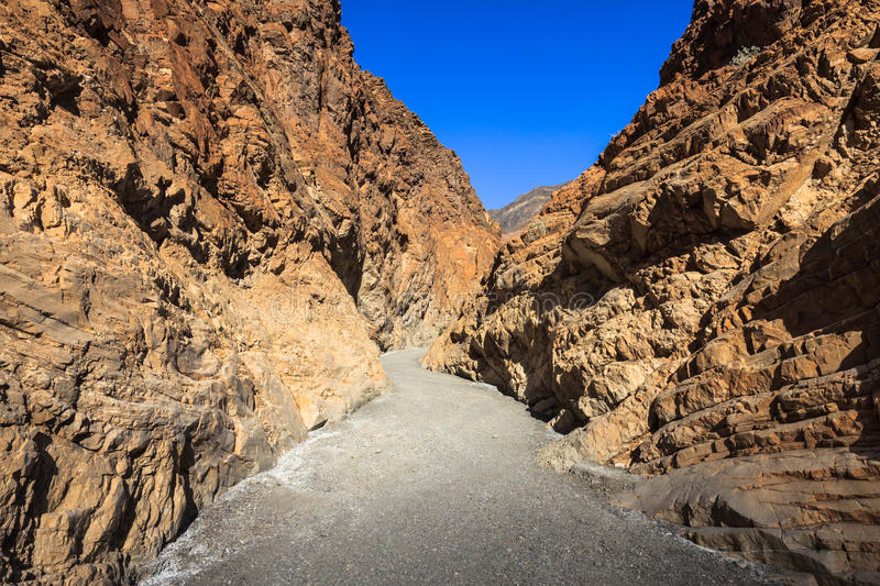 Mosaic Canyon Trail royalty free stock images