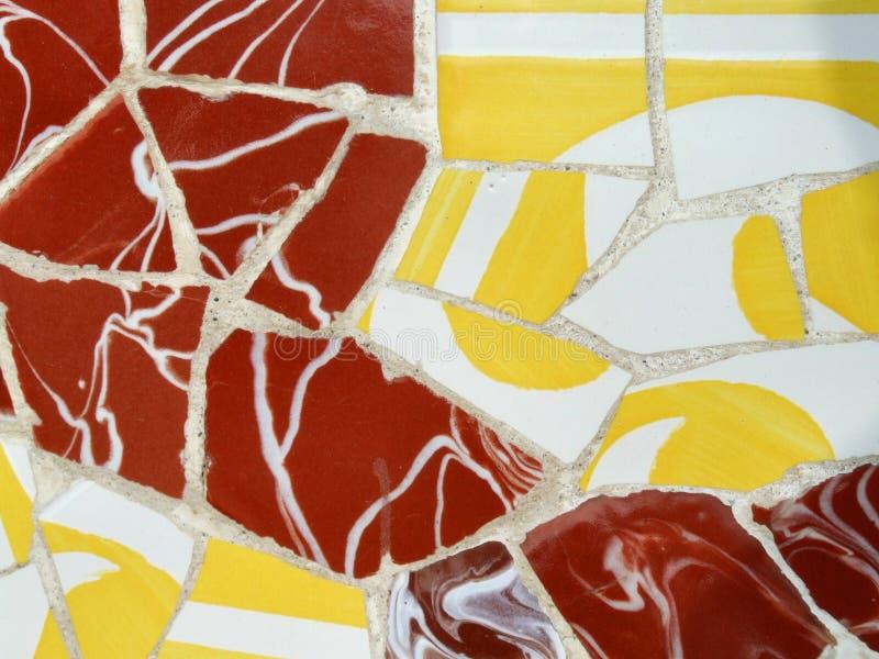 Mosaic decoration royalty free stock photography