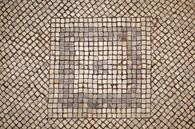 Mosaic Floor royalty free stock photos