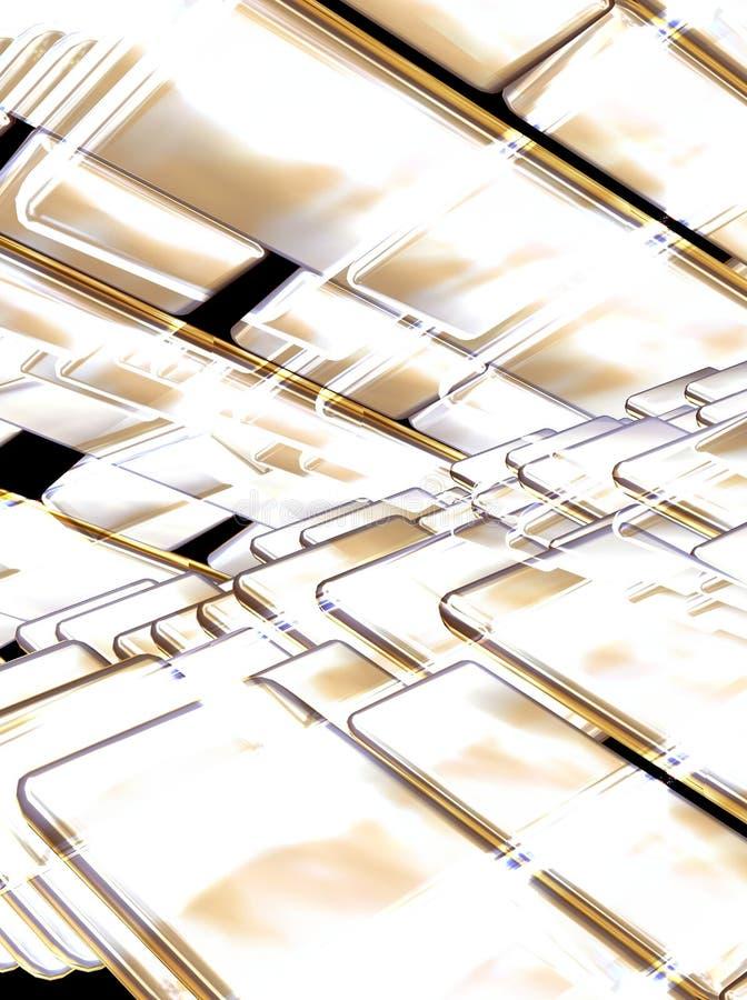 Download Mosaic Golden Royalty Free Stock Image - Image: 2321976