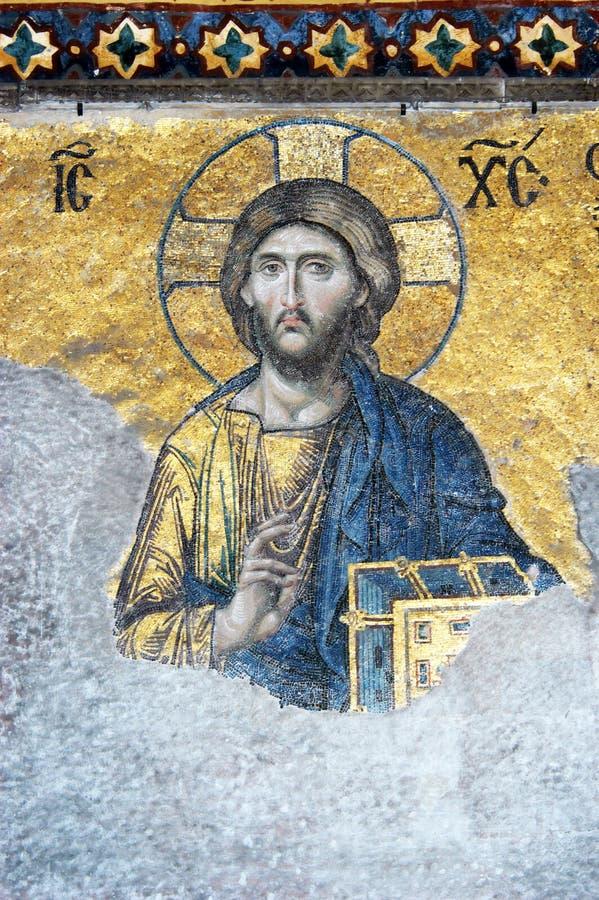 Download Mosaic of Jesus Christ stock photo. Image of turkish - 10346356