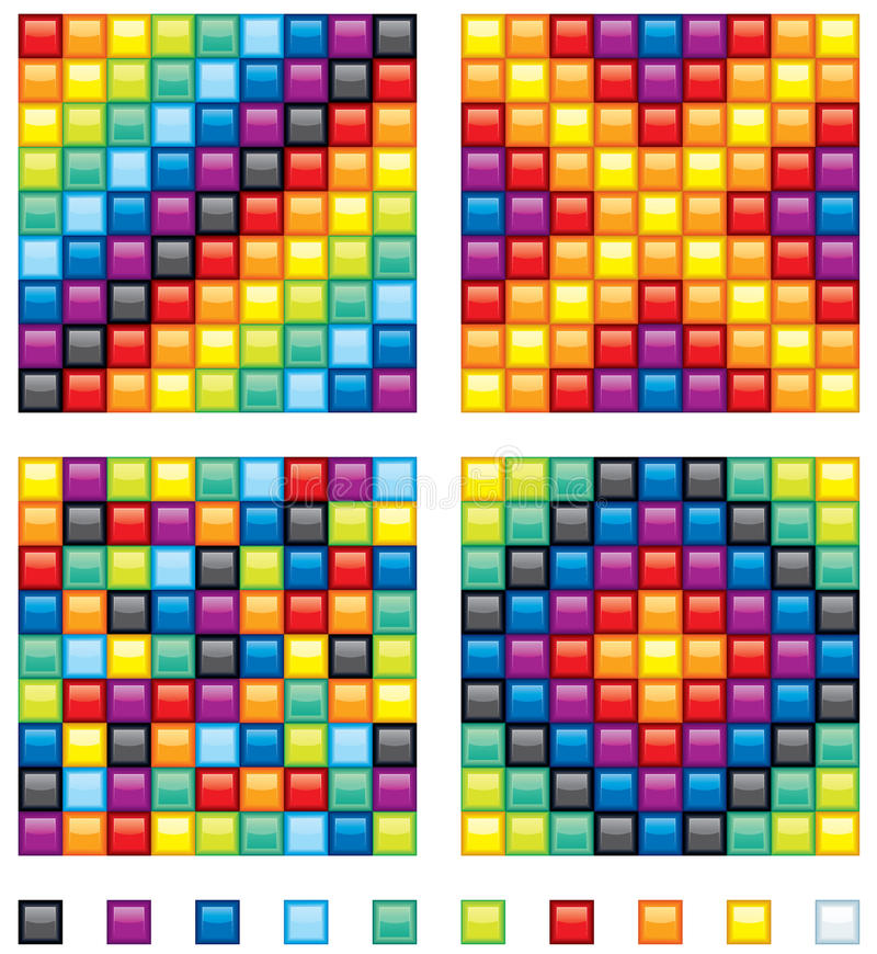 Download Mosaic Kit stock vector. Image of internet, background - 19673628