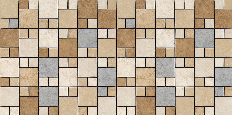 Mosaic pattern royalty free stock photography