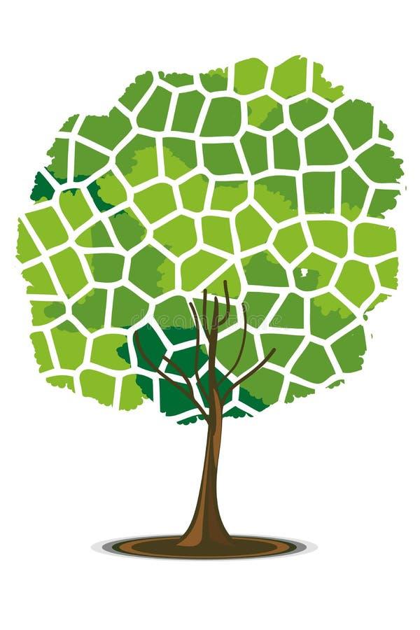 Mosaic pattern tree