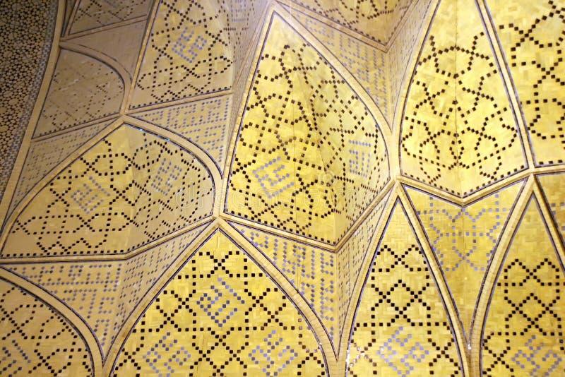 Mosaic pattern on wall royalty free stock photos