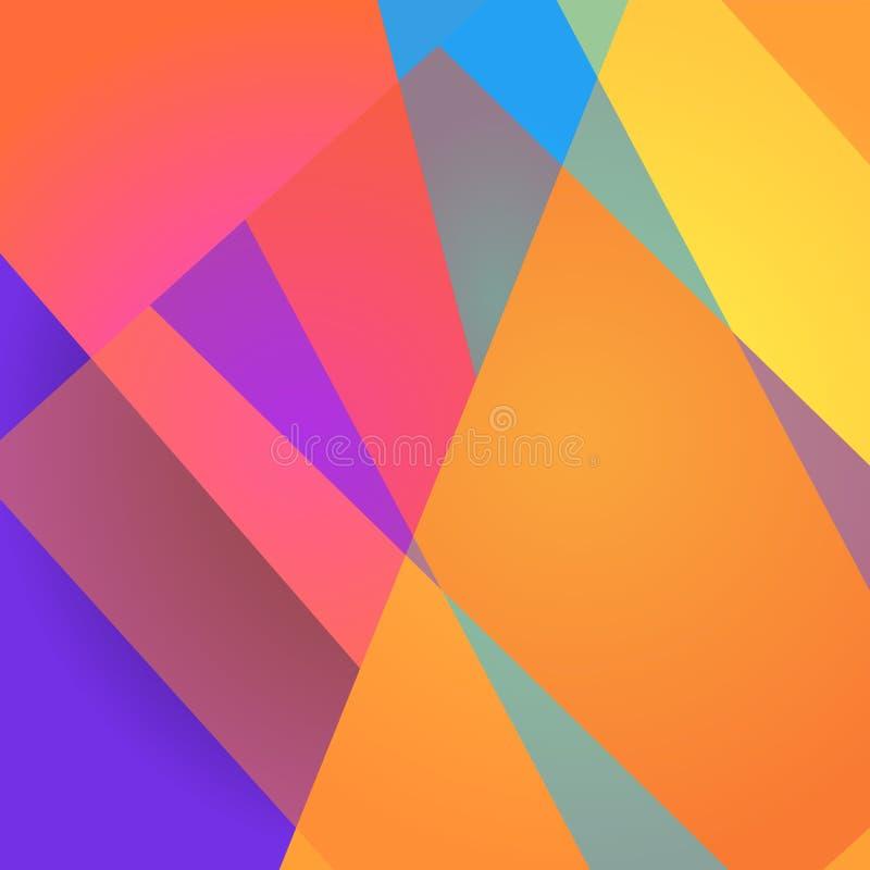 Mosaic poligonal background in vector. Banner, print for fabric, packaging design.  vector illustration