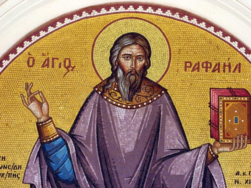 Mosaic Saint Raphael