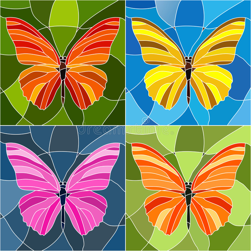 Mosaic series vector illustration