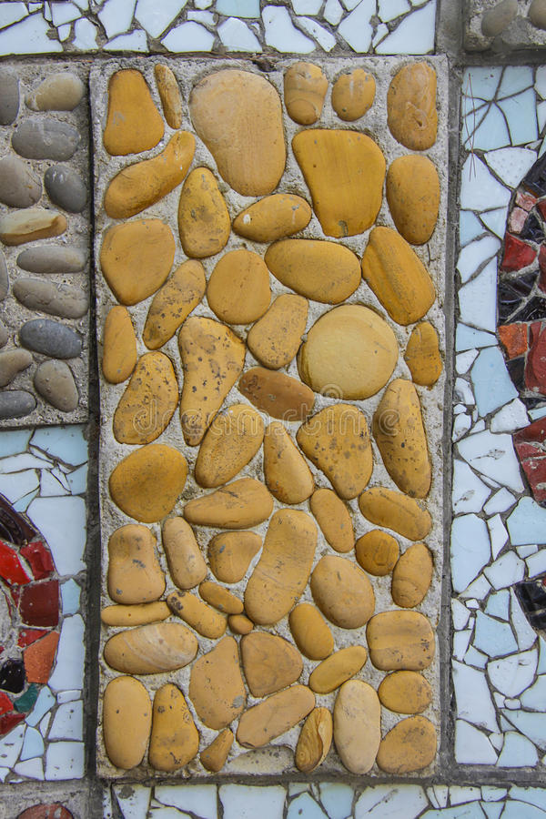 Mosaic. Square background filled with colorful mosaic stock images