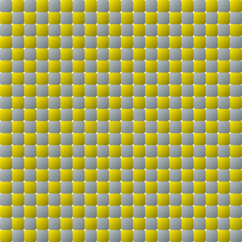 Mosaic squares yellow grey wall background vector illustration