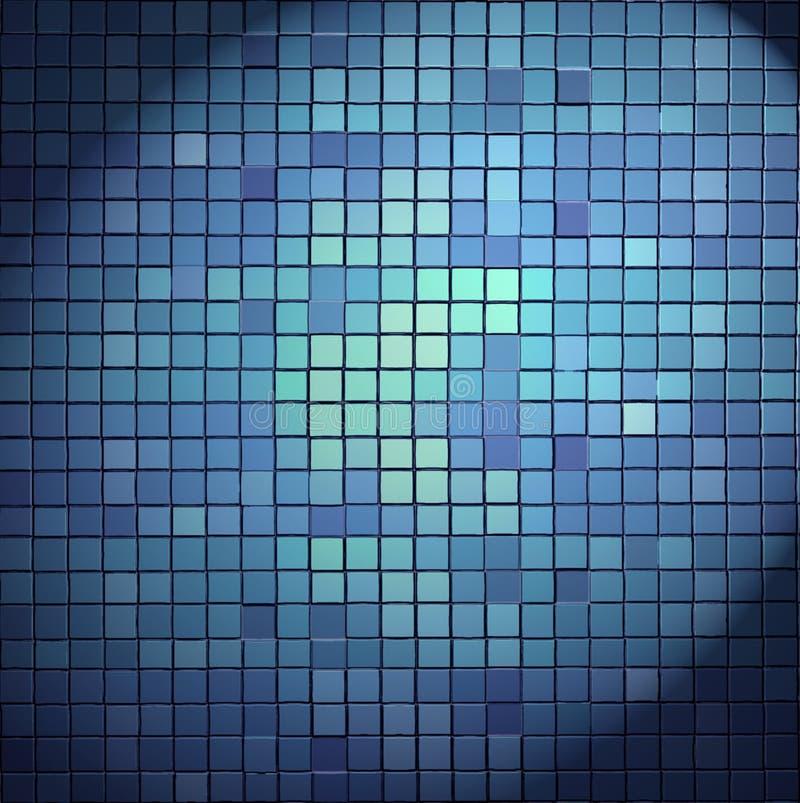 Mosaic texture royalty free stock photo